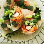 Springrolls met krokante surimi