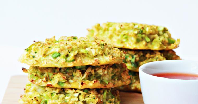 Broccolikoekjes uit de oven (van broccolirijst!)