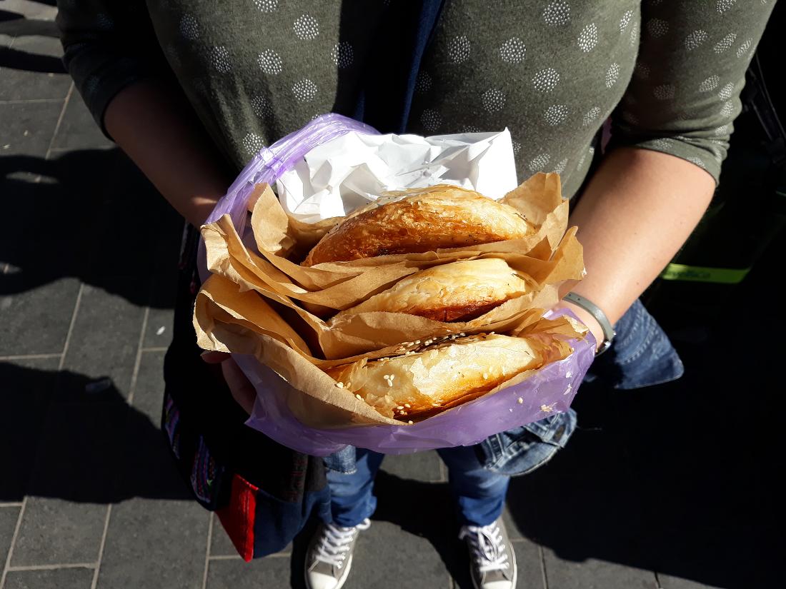 Ik ga naar huis en ik neem mee… #3: boreka's, tahin en lokale recepten uit Israël