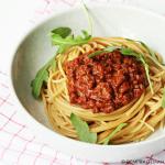 Makkelijke pasta bolognese