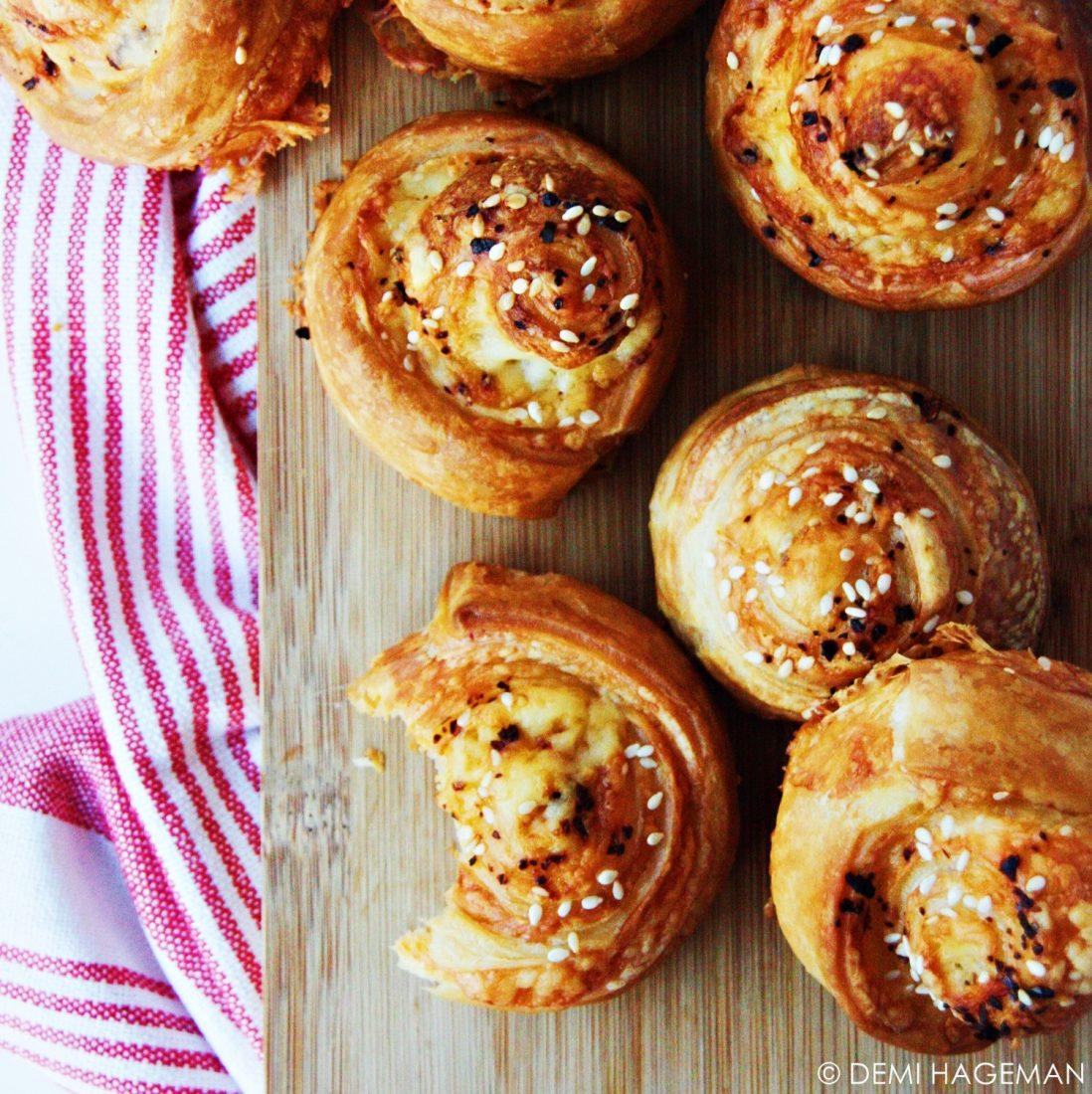makkelijke kaasbroodjes voor bij de borrel Demi Hageman StudioKOOK.nl
