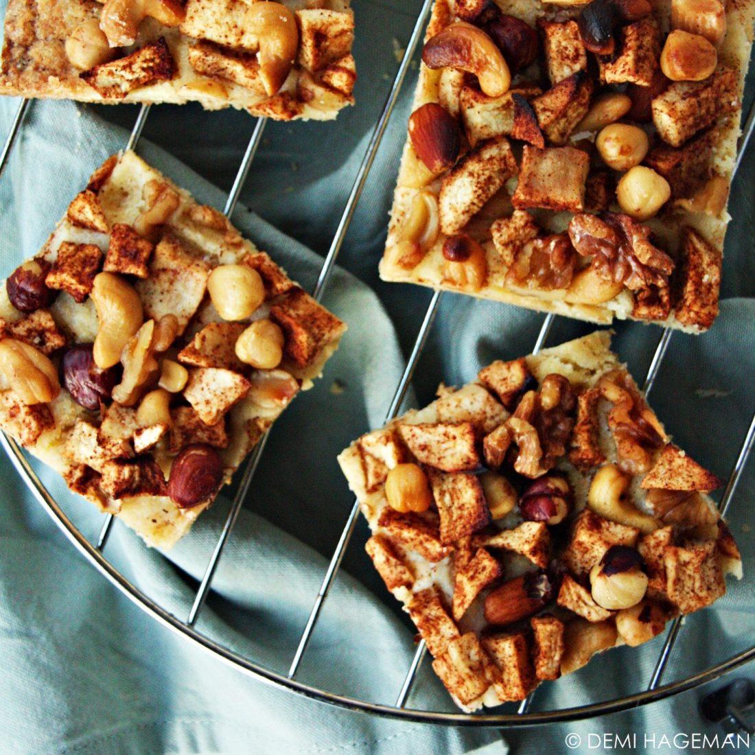 appeltaart van de bakplaat