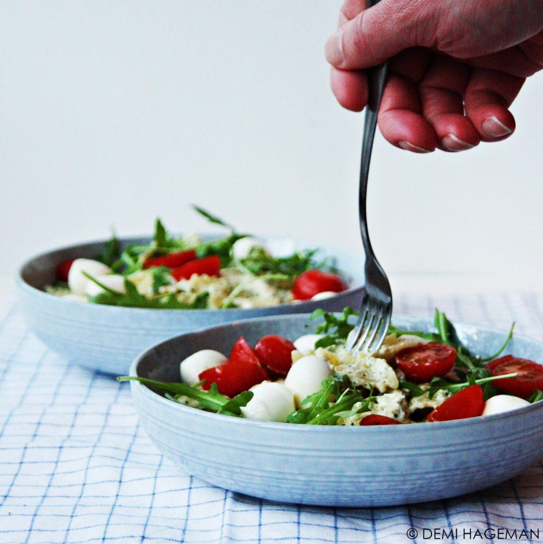 pasta pesto met kip simpel recept