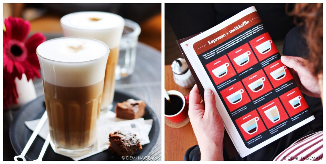 verschillende soorten koffie