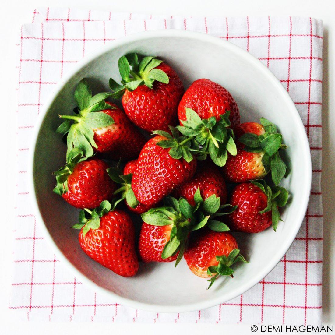 aardbeien wassen aardbeien bewaren