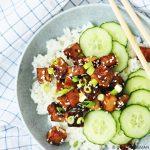 Sticky tofu (Snel & Simpel)