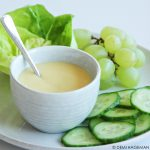 Romige dressing, heerlijk in elke salade of op elke sandwich