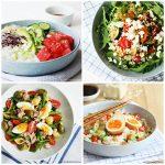 Zomerse salades: 10 makkelijke recepten