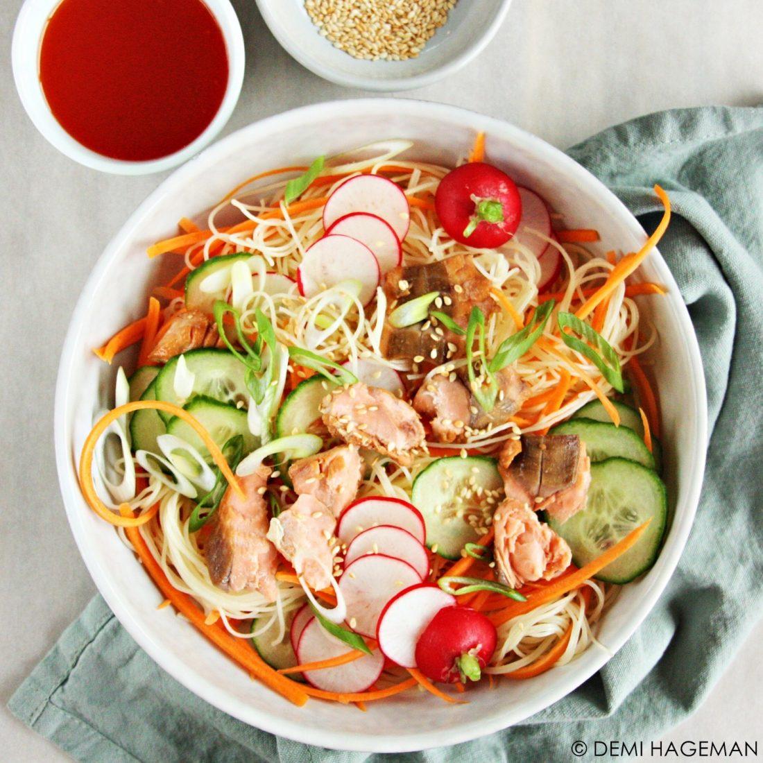 springroll salade