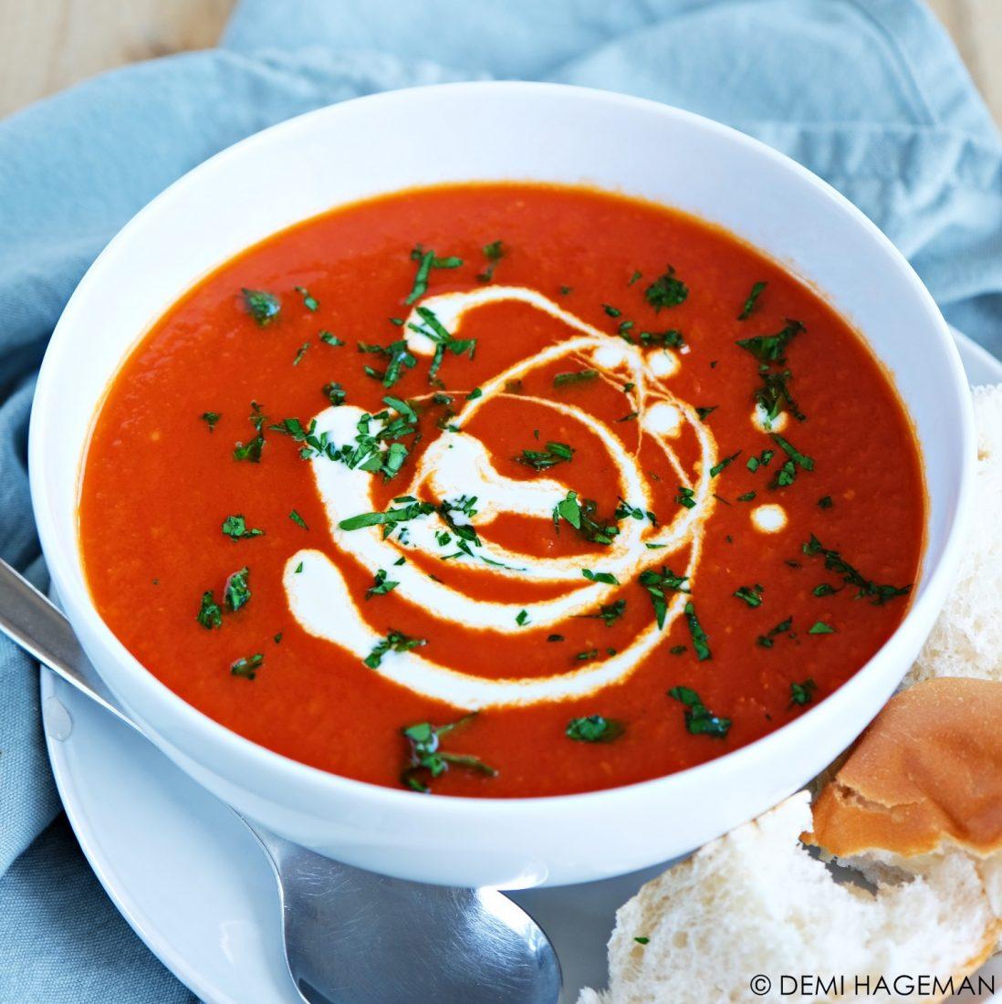 makkelijke tomatensoep