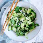 geplette komkommersalade