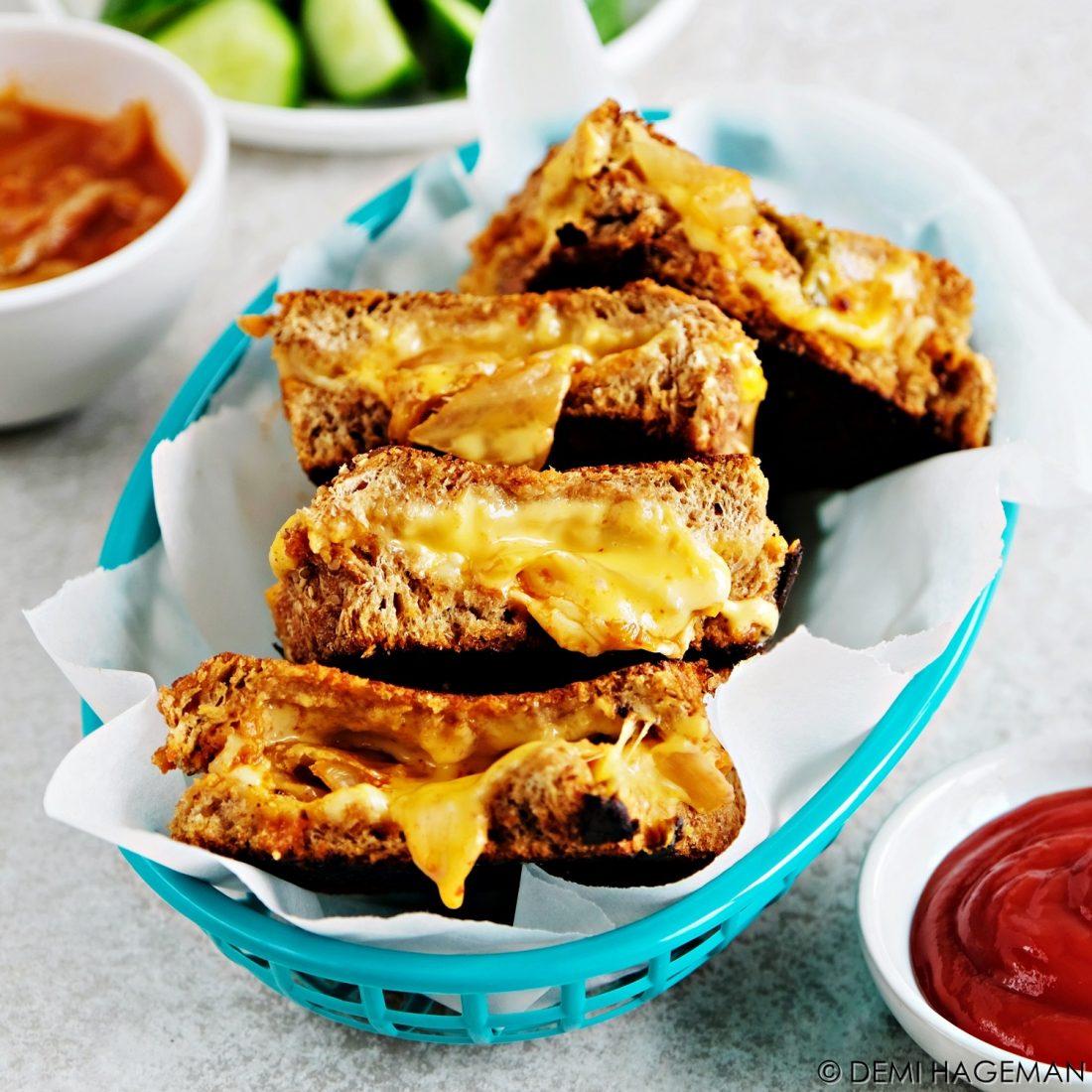 kimchi tosti